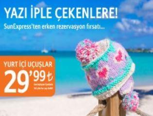 Sunexpress'ten Erken Rezervasyon Fırsatı