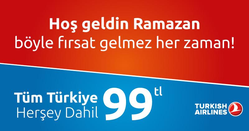 Türk Havayolları Ramazan Kampanyası